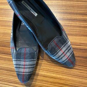 Manolo Blahnik Wool Flats